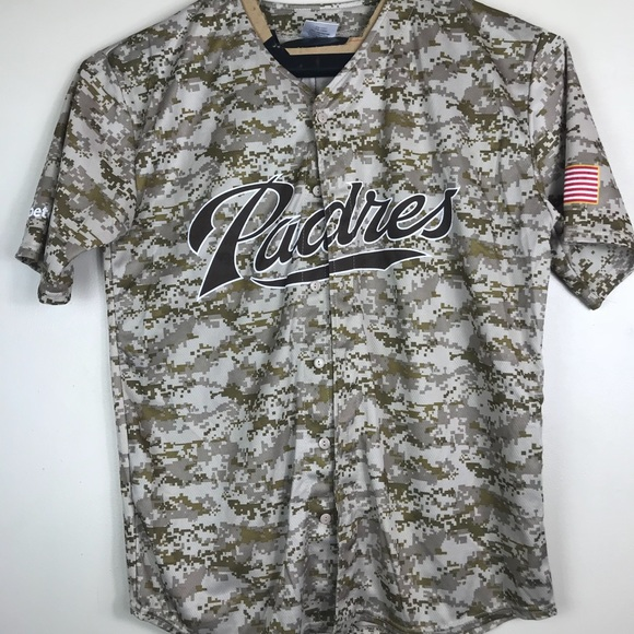 best website 5aac8 5494e San Diego Padres Matt Kemp Camo XL Jersey 🇺🇸